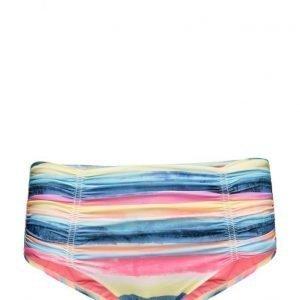 Seafolly Bluecoastgatheredfrntretropant bikinit