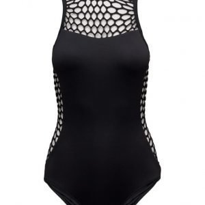 Seafolly Mesh About High Neck Maillot uimapuku