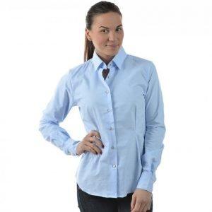 Sebago Oxford Shirt Fw Pitkähihainen Kauluspaita Sininen