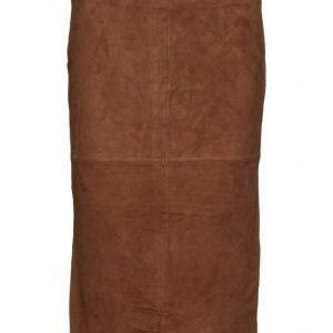 Second Female Agency Suede Long Skirt mekko