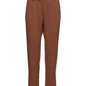 Second Female Grid Pants suorat housut