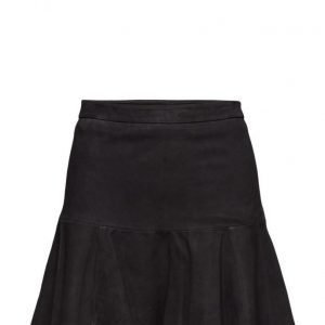 Second Female Leanne Suede Skirt lyhyt hame