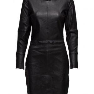 Second Female Lual Leather Dress lyhyt mekko
