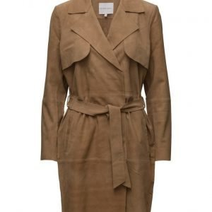 Second Female Maya Suede Trenchcoat trenssi