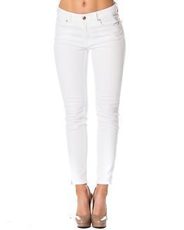 Selected Femme Bea Mr 7/8 Jeans White