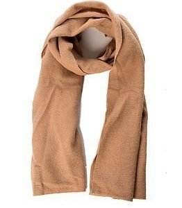 Selected Femme Darla Knit Scarf  Tannin