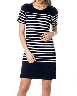 Selected Femme Malmik Dress Navy Blazer/Snow White