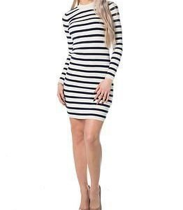 Selected Femme Mifa LS Knit Dress Snow White