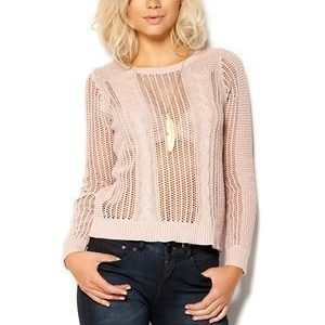 Selected Femme Nannie Knit Pullover Lily Rose