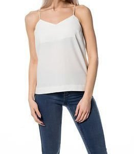 Selected Femme Newsmile Strap Top White