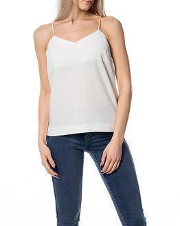Selected Femme Newsmile Strap Top White