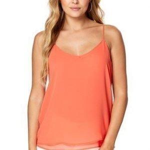 Selected Femme Paita Smile Oranssinpunainen