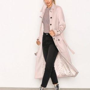 Selected Femme Sfally Long Wool Coat H Pitkä Takki Offwhite