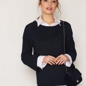 Selected Femme Sfaura 7 / 8 Knit Pullover Neulepusero Tummansininen