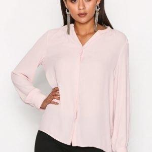 Selected Femme Sfdamina Ls Shirt Arkipaita Vaalea Pinkki