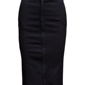 Selected Femme Sfduse Mw Dark Blue Skirt Ex kynähame