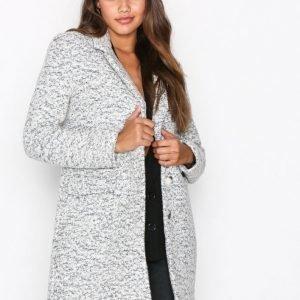Selected Femme Sffaber Wool Coat H Pitkä Takki Valkoinen