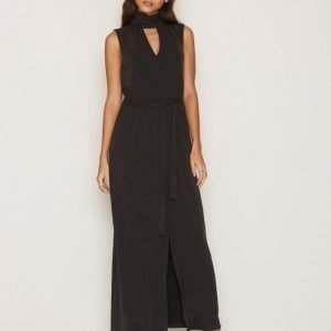 Selected Femme Sfholly Sl Maxi Dress Maksimekko Musta