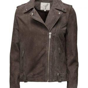 Selected Femme Sfjordyn Suede Jacket nahkatakki