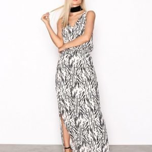 Selected Femme Sflauren Hollie Sl Ankle Dress H Maksimekko Musta
