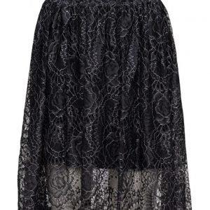 Selected Femme Sflera Mw Lace Skirt Ex mekko
