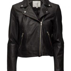 Selected Femme Sfmarlen Leather Jacket Noos nahkatakki