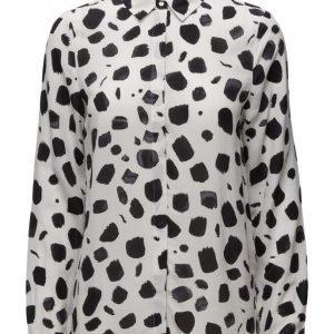Selected Femme Sfnorva Ls Silk Shirt pitkähihainen pusero