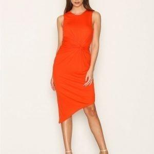 Selected Femme Sfsella Sl Dress Maksimekko Punainen