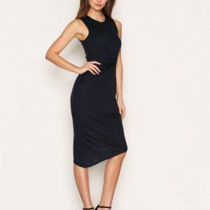 Selected Femme Sfsella Sl Dress Maksimekko Tummansininen