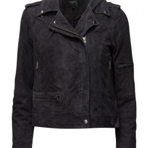 Selected Femme Sfstella Suede Jacket nahkatakki