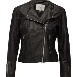 Selected Femme Sfstelta Leather Jacket nahkatakki