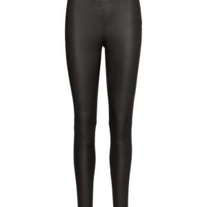 Selected Femme Sfsylvia Mw Stretch Leather Legging Noos
