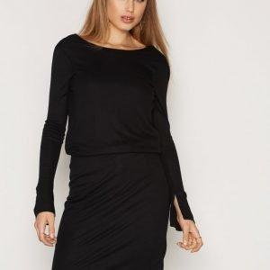 Selected Femme Sfvenke Ls Dress Kotelomekko Musta