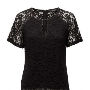 Selected Femme Sfvimil Ss Lace Top lyhythihainen pusero