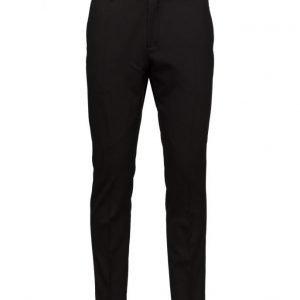Selected Homme Abone-Dontux Black Trouser muodolliset housut