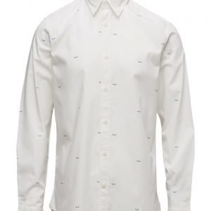Selected Homme Abone-Printed Shirt Ls