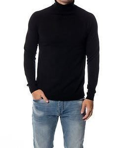 Selected Homme Adam Roll Neck Black