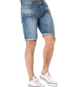 Selected Homme Alex 1029 Denim Shorts Light Blue