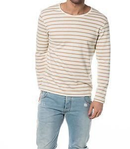 Selected Homme Alexander Crew Neck Sweat White Pepper