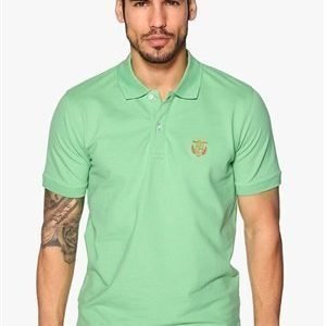 Selected Homme Aro Embroidery Polo Absinte Green