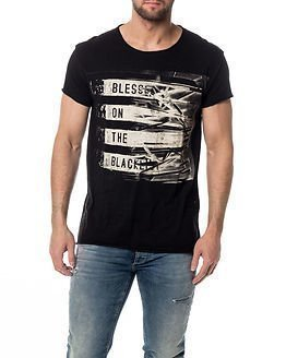 Selected Homme Blessed O-neck Black