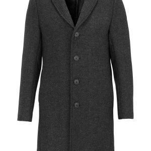 Selected Homme Bone Coat Gunmetal
