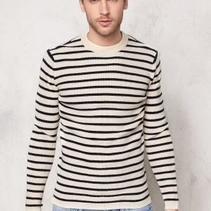 Selected Homme Call Crew Neck Papyrus
