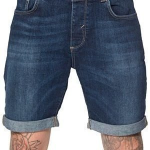 Selected Homme Cash 3954 Denim Shorts Dark Blue Denim