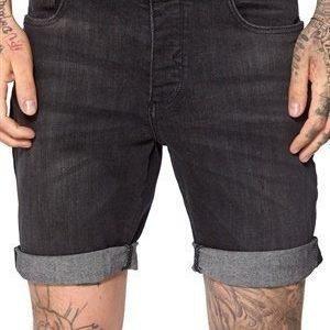 Selected Homme Cash 4630 Denim Shorts Black