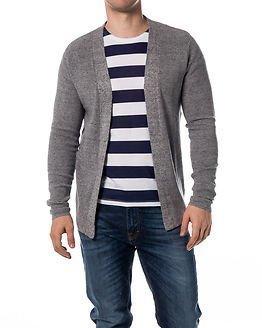 Selected Homme Chad Cardigan Light Grey Melange