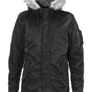 Selected Homme Chad Parka Black