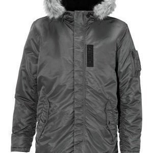 Selected Homme Chad Parka Gunmetal