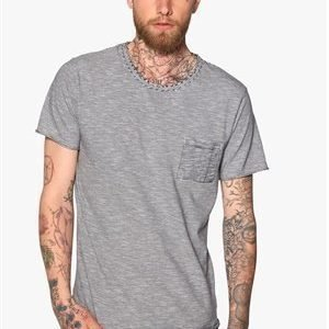 Selected Homme Chris ss o-neck Black