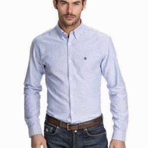 Selected Homme Collect Shirt Kauluspaita Light Blue